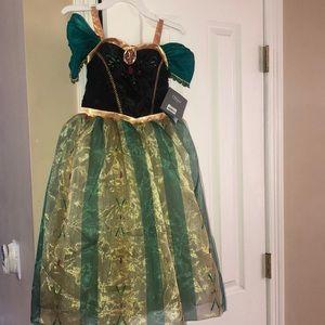 Disney store Anna coronation dress Frozen NWT 5/6